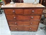 Sale 8889 - Lot 1051 - Victorian Chest of Five Drawers