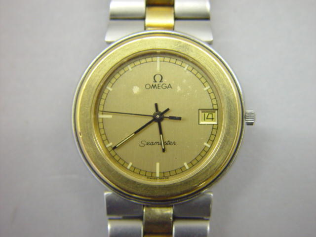 Sale 3545 - Lot 58 - A GENTLEMANS OMEGA SEAMASTER BRACELET WATCH;