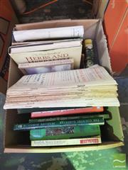 Sale 8900 - Lot 53 - Box of Gardening Books incl. Hobhouse, P. The Country Gardener; Herbert, D.A. Gardening in Warm Climates; Australian Gardening...