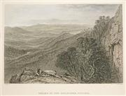 Sale 8573 - Lot 2080 - Samuel Prout Hill (1820 - 1961) (5 works) - Scenes of Colonial Victoria 12 x 18cm (mount size: 26x 30)