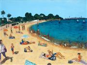 Sale 9013A - Lot 5084 - Stanley Perl (1943 - ) - Summer Camp Cove 46 x 60 cm