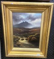 Sale 9087 - Lot 2016 - Artist Unknown On the Avon, 19th century, oil on canvas. frame: 43 x 35 cm, signed lower left