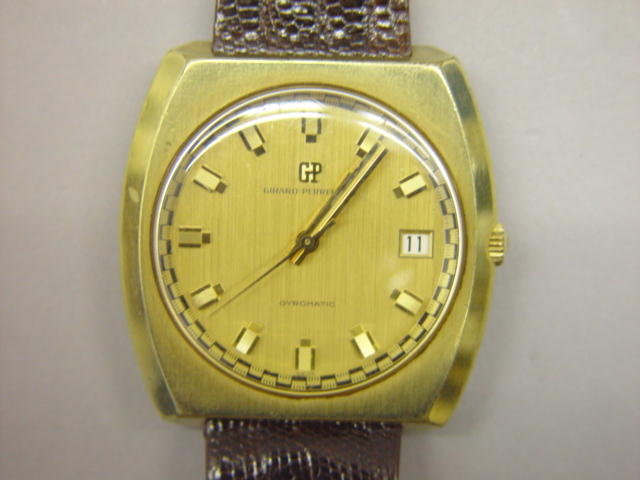 Sale 3545 - Lot 43 - A GENTLEMANS GIRARD PERREGAUX WRIST WATCH;