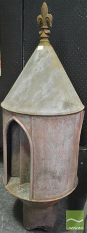 Sale 8260 - Lot 1006 - Pair of Vintage Church Roof Vents