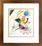 Sale 8741A - Lot 46 - Wassily Kandinsky, Blue Circle, limited edition decorative print, 79 x 73cm (frame size), certificate verso