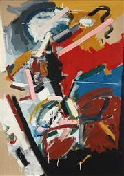 Sale 8830 - Lot 538 - Rod Withers (1946 - 1988) - Untitled, 1977 152 x 106.5cm