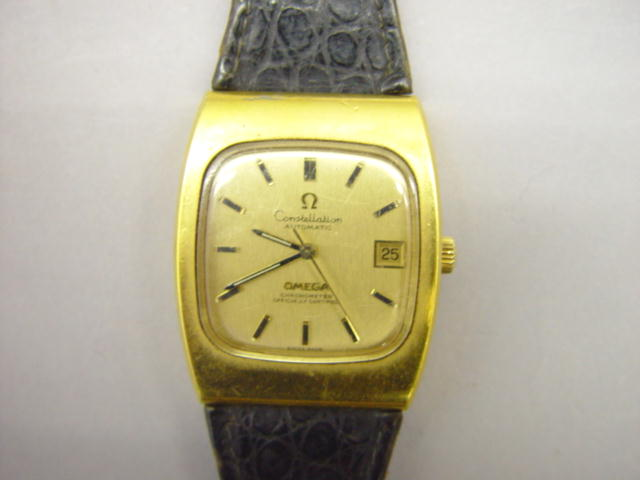 Sale 3545 - Lot 41 - A GENTLEMANS OMEGA CONSTELLATION WRIST WATCH;