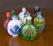 Sale 7379B - Lot 70 - Eight Assorted Snuff Bottles