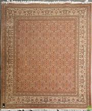 Sale 8634 - Lot 1050 - Cadrys Persian Wool Carpet, with repeating Herati pattern in cream tones (250 x 200cm)