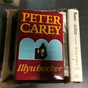 Sale 8659 - Lot 2412 - 7 Volumes by Carey, Peter incl. Illywhacker; My Life as a Fake; Parrot & Oliver in America; etc