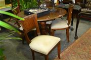 Sale 8046 - Lot 1044 - Set of 4 Teak Dining Chairs