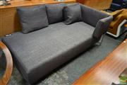 Sale 8511 - Lot 1034 - B&B Italia Chaise with Grey Woollen Upholstery & Adjustable Back
