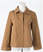 Sale 8541A - Lot 5 - A Miu Miu vintage copper jacket, size 8