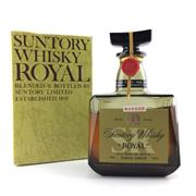 Sale 8687 - Lot 904 - 1x Suntory Whisky Royal Blended Japanese Whisky - old bottling, some evaporative losses, in box