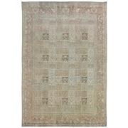 Sale 8761C - Lot 29 - A Vintage Persian Overdye Moud Carpet, Hand-knotted Wool, 287x195cm, RRP $1,800