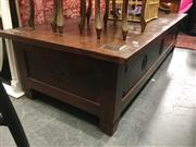 Sale 8782 - Lot 1305 - Timber Oriental Coffee Table with Lift Top Compartment
