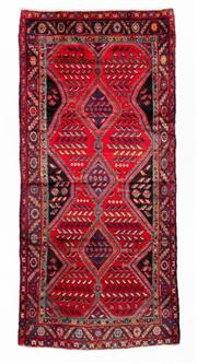 Sale 8800C - Lot 110 - A Persian Hamadan Hand Knotted Wool Pile Rug, 125 x 270cm