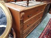 Sale 8831 - Lot 1056A - Baltic Pine Chest of 3 Drawers