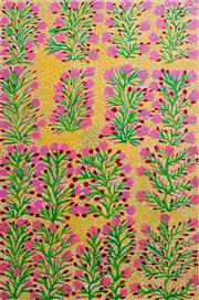 Sale 8269A - Lot 47 - Audrey Morton Kngwarreye - Alpite - Wild Flowers, 1999 90 x 60cm