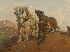 Sale 3655 - Lot 78 - Harold Septimus Power (1878-1951) - The Draught Horses