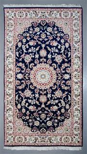 Sale 8545C - Lot 57 - Indo Nain Silk Inlay 167cm x 94cm
