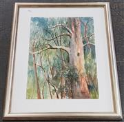 Sale 8973 - Lot 2051 - Cynthia Jackson The Grove, watercolour, 51 x 36 cm (frame: 71 x 54 x 4 cm) signed lower right