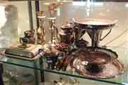 Sale 8189 - Lot 167 - Silver Plated Teapots with Others incl. Coffee Pots