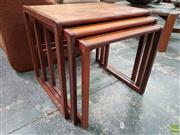 Sale 8585 - Lot 1087 - G-Plan Nest of Tables