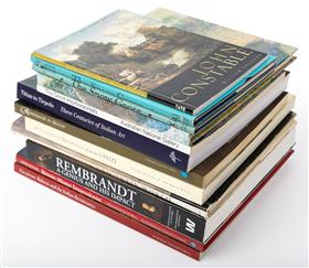 Sale 9195H - Lot 92 - A quantity of books on Art to include Renaissance Drawings from the Uffizi and Rembrandt.