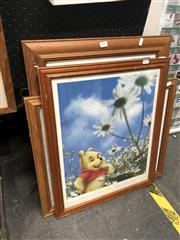 Sale 8845 - Lot 2093 - Set of Three Winnie the Pooh Prints