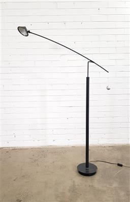 Sale 9171 - Lot 1042 - Post modern vintage black floor lamp by Carlo Forcolini for Artemedes 1989 (h:128cm)