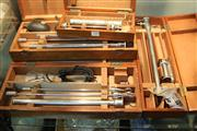 Sale 8326 - Lot 1095 - Set of Four Cased Medical Instruments