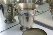 Sale 8346 - Lot 39 - Silver Plated Champagne Bucket