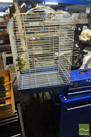 Sale 8537 - Lot 2187 - Birdcage on Stand