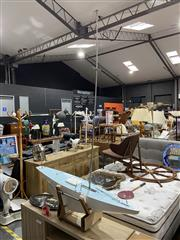 Sale 8876 - Lot 1044 - Large Pond Yacht on Stand