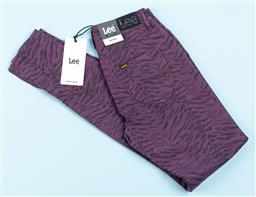 Sale 9091F - Lot 31 - A PAIR OF LEE JEANS in purple zebra print new with tag, size K7
