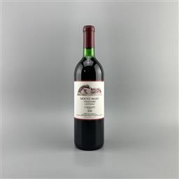 Sale 9129W - Lot 662 - 1990 Mount Mary Quintet Cabernets, Yarra Valley - base of neck