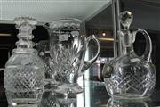 Sale 7977 - Lot 5 - Stuart Crystal Jug and 2 Crystal Decanters