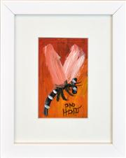 Sale 8254 - Lot 529 - Kevin Charles (Pro) Hart (1928 - 2006) - Dragonfly 11.5 x 7cm
