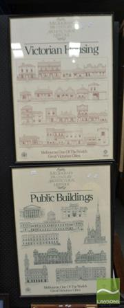 Sale 8464 - Lot 2024 - Pair of Framed Posters