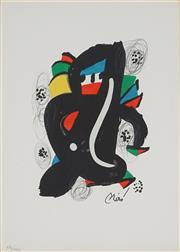 Sale 8907 - Lot 585 - Joan Miro (1893 - 1983) - La Melodie Acide, 1980 32 x 24 cm