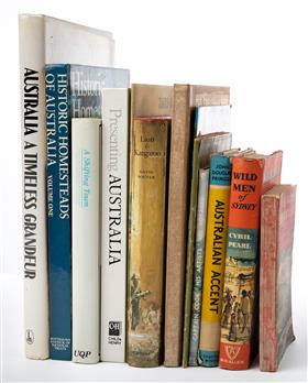 Sale 9195H - Lot 79 - A quantity of books on Australiana to include Wild Men of Sydney by Cyril Pearl