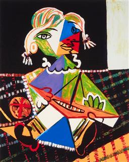 Sale 9248H - Lot 162 - PABLO (RUIZ) PICASSO (1881-1973) Limited Edition Colour Giclee on Fine Art Paper Collection Domaine Picasso Titled: Mona With...