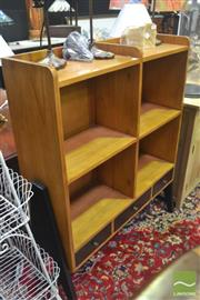 Sale 8323 - Lot 1034 - Elevated Open Bookcase