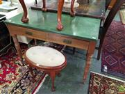 Sale 8566 - Lot 1364 - Painted Top Hall Table