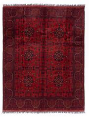 Sale 8800C - Lot 117 - An Afghan Khal Mohammadi 100% Wool Pile Natural Dyes, 150 x 200cm