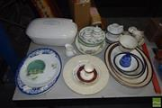 Sale 8548 - Lot 2379 - Collection of Ceramics incl, Platters, Plates, Cups & Saucers, etc