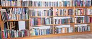 Sale 8550H - Lot 245 - A bookcase and its contents of books with hardcover and paper back on various subjects