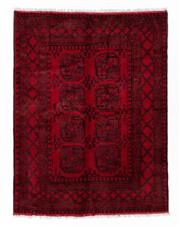 Sale 8800C - Lot 118 - An Afghan Tekke Hand Knotted Wool Rug, In A Hardy Weave Of Elephant Foot Design, 150 x 200cm