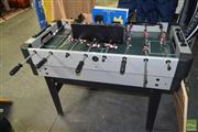 Sale 8506 - Lot 2092 - Foosball Table Convertible to Pool Table & Other Various Games incl. Accessories